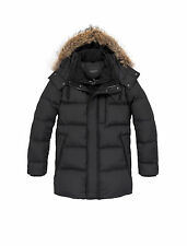 Marc New York - Winslow - Water-Repellent Coat with Removable Coyote Faux Fur...