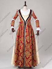 Medieval Maiden Renaissance Game of Thrones Dress Gown Halloween Costume 380