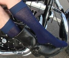 2 Pairs of Boot Socks - for Motorcycle & cowboy Boots > M/L or L/XL