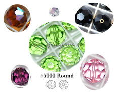 Authentic #5000 Swarovski Crystal 10mm Round Beads pick colors 4pcs SALE