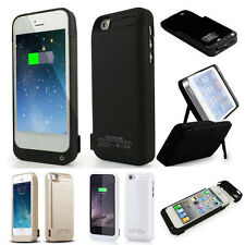 New 4200mAh External Battery Backup Charger Charging Cover Case for iPhone 5 5S