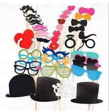 New ! Photo Booth DIY Mask Mustache Stick Props Wedding Birthday Christmas Party