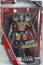 TRIPLE H ELITE 42 WWE MATTEL BRAND NEW ACTION FIGURE TOY IN STOCK - MINT