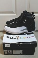 Nike Air Jordan XII 12 Retro OG Playoff 130690–001 Size 12 DS Black 2012 New