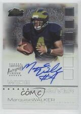 2002 Topps Finest 126 Marquise Walker Tampa Bay Buccaneers Auto RC Football Card