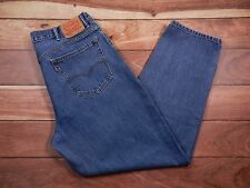 Mens Levi's 560 Jeans Size 38x32 Comfort Fit Tapered Leg 100% Cotton Zipper Fly