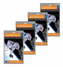 Astronaut Ice Cream Double Chocolate Chip Freeze Dried Food 4 Packs