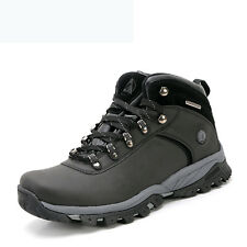 Mens Big Size Waterproof Hiking Shoes Trail Non Slip Wearable Breathable Shoes