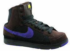 Nike Air Troupe Mid Womens Trainers Boots Shoes Brown Leather 324922 251 WH