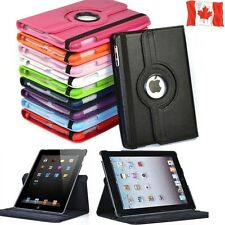 "iPad Air 1 2 Mini 2 3 4 Pro 9.7 10.5 "" 12.9 Case Smart Leather Rotating Stand"