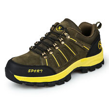 Men New Fashion Fall Big Size Trail Hiking Shoes Climbing Antiskid Outdoor Shoes