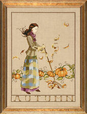 Mirabilia counted cross stitch chart pattern seasonal Seasons Blooming Bride