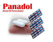 Panadol 500mg,24/144 Tablets Pain Killer Headache,Fever, Cold, Flu, Toothache