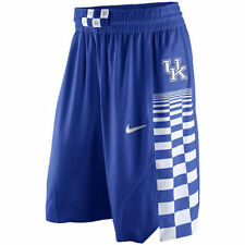 Nike Kentucky Wildcats Authentic On Court Mens Basketball Shorts L Blue White