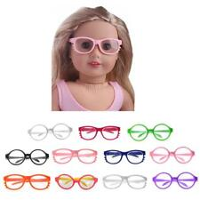 "Round Frame / Cat Style Glasses Eye Glasses for 18"" American Girl Doll Clothes"