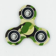 Tri-Spinner Fidget Toy Ceramic EDC Toy Hand Finger Spinner Desk Stress Kids Gift