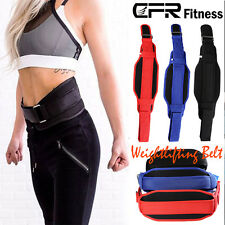 Weight Lifting Train Belt Fitness Boddy Building Workout Back Brace Support AP