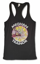 Meghan Trainor M Train Image Girls Juniors Black Tank Top Shirt New Official