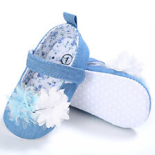 Canvas Baby Girls Walking Shoes Pink Soft Sole Floral Print First Walkers
