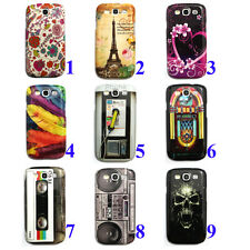 Various Pattern Design Hard Back Case Cover Skin for Samsung Galaxy S3 S 3 III