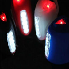 Hot Cycling Bike Bicycle Red Silicone 7 LED Frog Front Head Light Rear Warning