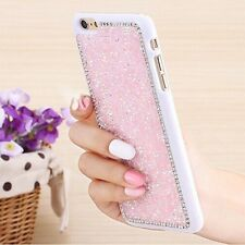 Luxury Glitter Bling Crystal Diamond Back Case Cover For iPhone Samsung Galaxy N