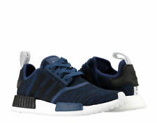 Adidas NMD_R1 Mystery Blue/Core Black/Navy Men's Running Shoes BY2775