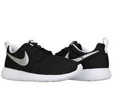 Nike Roshe One (GS) Black/Silver-White Big Kids Running Shoes 599728-021