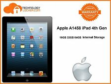 Apple A1458 iPad 4th Gen Retina 16/32/64GB 9.7in Wi-Fi Only