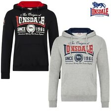 LONSDALE Men's Hoody Wells Hoody Pullover Pullover Boxing S to 3XL