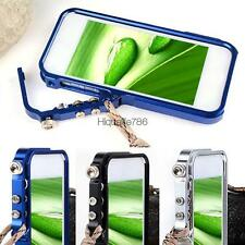New Aluminum Metal Hard Frame Cleave Case Cover For Apple iPhone 5 5S HE8Y