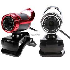USB HD Webcam Web Cam Camera Built-in MIC Clip On for Computer PC Laptop HE8Y