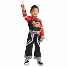 Disney Store Boys Kids Official Cars 3 Lightning McQueen Fancy Dress Costume