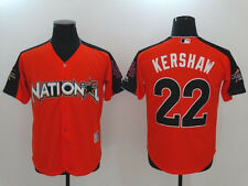 Clayton Kershaw Orange 2017 MLB All-Star Game Authentic Home Run Derby Jersey
