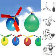 10Pcs Vogue Classic Balloon Helicopter Child Party Bag Filler Flying Toys JZUS
