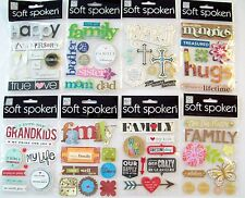 Soft Spoken Family Stickers    New!   NIP