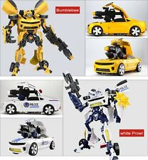 45cm LargeSize Transformable Robot Car For kids Toy With Sound and light version