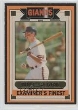 1991 Examiner's Finest San Francisco Giants SF Sports Expo Gold #WICL Will Clark