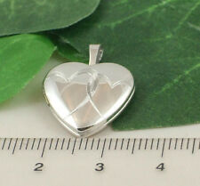 Sassi SL1011 Small 925 Sterling Silver Entwined Heart Design Heart Shape Locket
