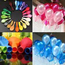 "50 PCS 12"" Inch Latex Helium Air Quality Balloons Party Wedding Birthday Decor"