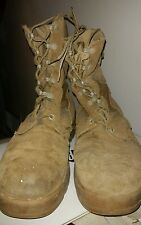 ROCKY Desert Tan Boots Men's US Size 8.5 Leather/Army Combat Hot Weather