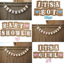Party Baby Baby Shower Banner Bunting Cute Borthday 1 Pcs Boy Decorations Girl