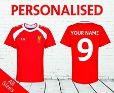 Official Liverpool FC Kids Football Shirt Personalised - The Reds Printed