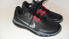 NEW Nike TW 15 Mens Golf Shoes  Black Grey Red 704884 001 Tiger Woods