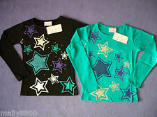"""Funky Babe - Girls - """"STAR"""" - Long Sleeve - Top -  Tshirt  - Size 8, 10, 12"""