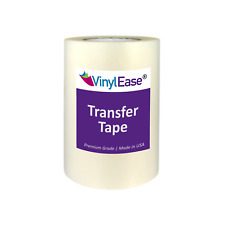 6 inch and 12 inch wide Clear Application Transfer Tape for Sign Craft Vinyl
