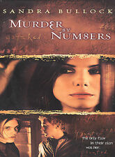 Murder by Numbers (DVD, 2002, Full Frame) NEW factory sealed