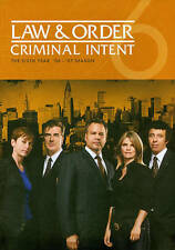 Law  Order: Criminal Intent - The Sixth Year (DVD, 2011, 5-Disc Set)