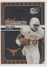 2006 Press Pass SE Class of CL9 Vince Young Texas Longhorns Rookie Football Card