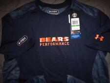 UNDER ARMOUR CHICAGO BEARS NFL COMBINE TRAINING FITTED SHIRT L MEN NWT $44.99